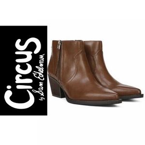 Circus by SAM EDELMAN Women Ankle Side-Zip Booties